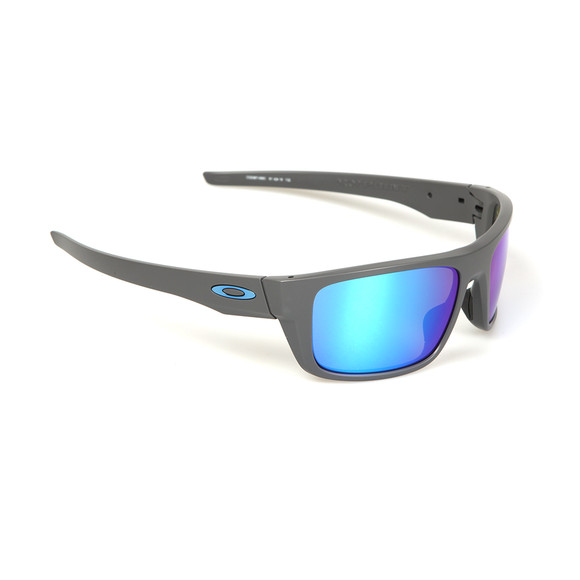 Oakley Mens Grey Drop Point Sunglasses main image