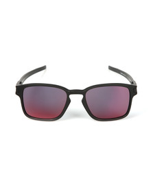 Oakley Mens Black Latch Square Sunglasses