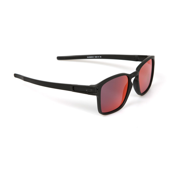 Oakley Mens Black Latch Square Sunglasses main image