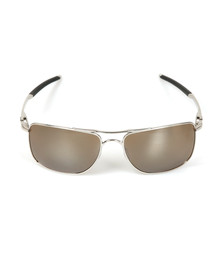 Oakley Mens Silver Gauge 8 Sunglasses