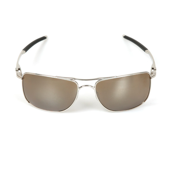 Oakley Mens Silver Gauge 8 Sunglasses main image