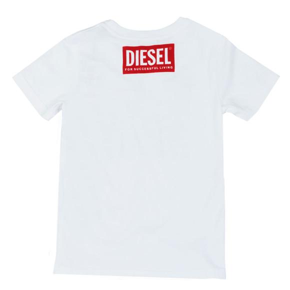 Diesel Boys White Boys Tangix T Shirt main image