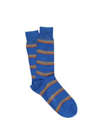 Multi Block Stripe Sock