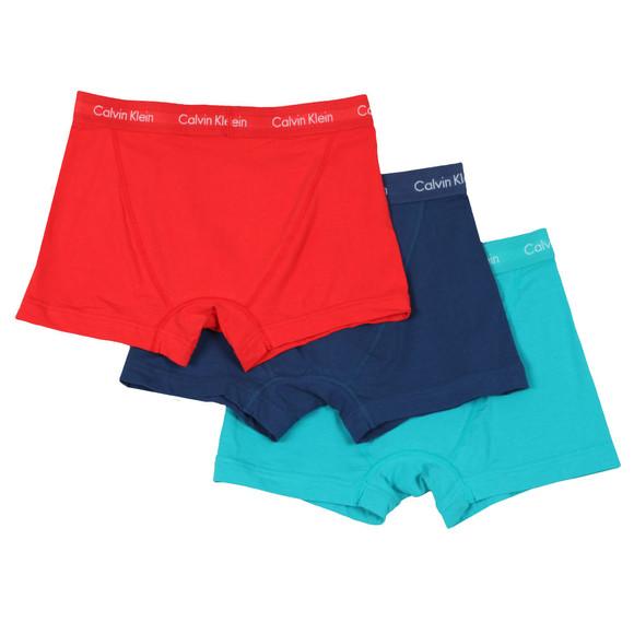 Calvin Klein Mens Blue 3 Pack Trunks main image