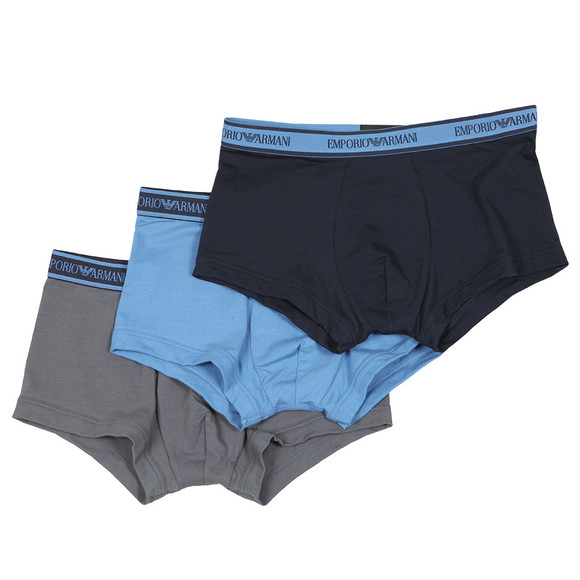 Emporio Armani Mens Multicoloured 3 Pack Trunk main image