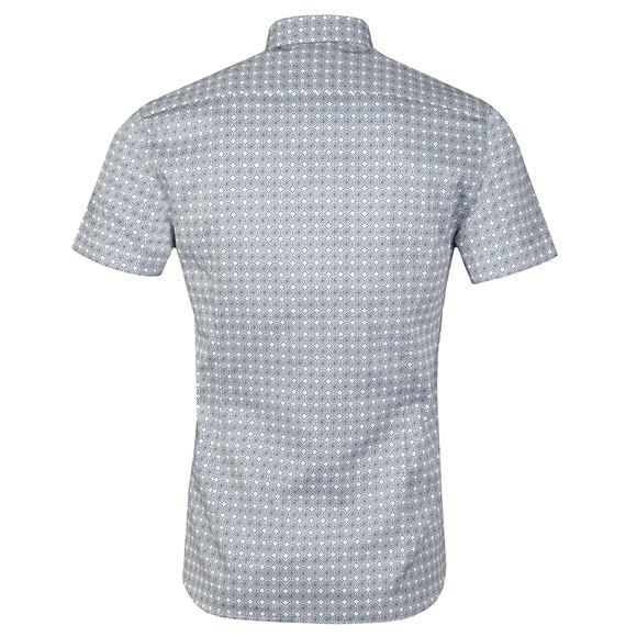 Ted Baker Mens Blue S/S Dot Circle Shirt main image