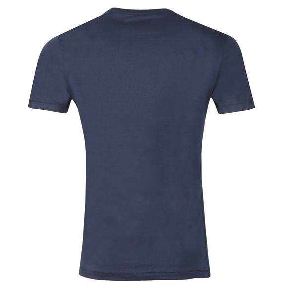 Von Dutch Mens Blue Classic Logo T Shirt main image