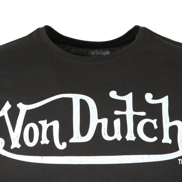 Von Dutch Mens Black Classic Logo T Shirt main image
