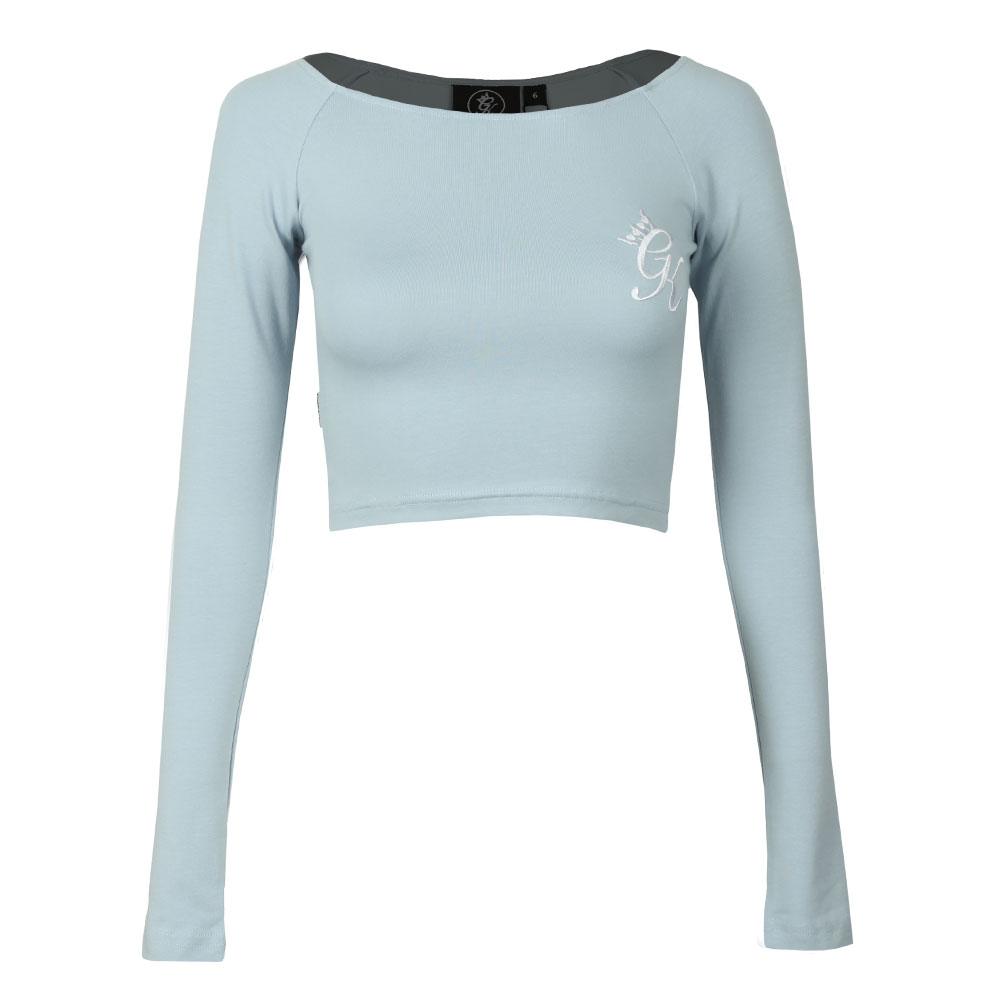 Florence Long Sleeve Crop Top main image
