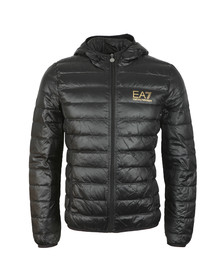 EA7 Emporio Armani Mens Black Train Core ID Light Down Jacket