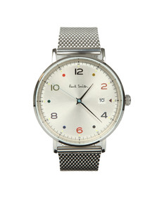 Paul Smith Mens Silver Gauge Colour 41mm Watch