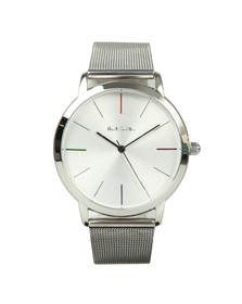 Paul Smith Mens Silver MA 41MM Watch
