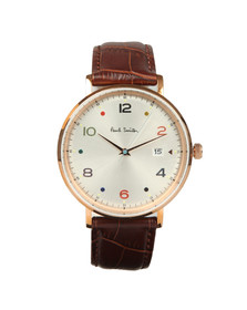 Paul Smith Mens Pink Gauge Colour 41mm Watch