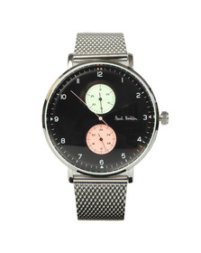 Paul Smith Mens Black Track Design 42mm Watch