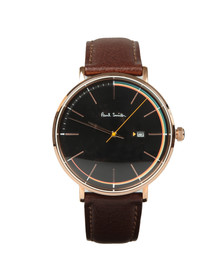 Paul Smith Mens Black Track Artist 42mm Watch