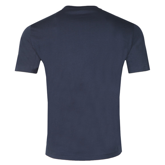 EA7 Emporio Armani Mens Blue Large Box Logo T Shirt main image