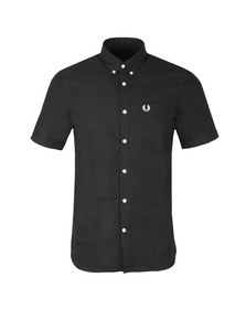 Fred Perry Mens Black Classic Oxford S/S Shirt