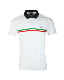 Sergio Tacchini Mens White S/S Supermac Polo