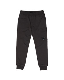 C.P. Company Mens Black Viewfinder Pocket Jogger