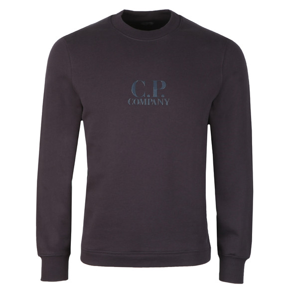 C.P. Company Mens Blue Chest Logo Sweatshirt main image