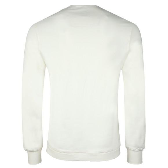 C.P. Company Mens Off-White Chest Logo Sweatshirt main image