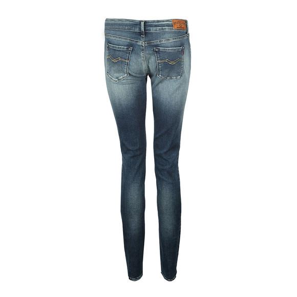 Replay Womens Blue Luz Skinny Stretch Jean main image