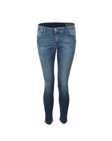Diesel Womens Blue Slandy Jean