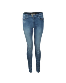 Replay Womens Blue Touch High Waist Skinny Jean