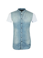 S/S Grandad Collar Shirt