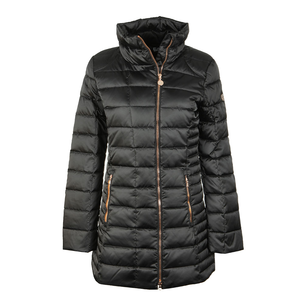 pick up factory hot-selling clearance Womens Black Long Down Jacket