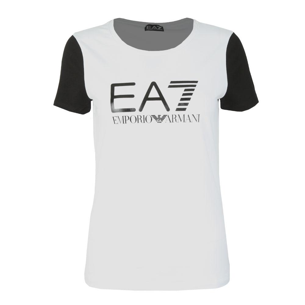 c0262209a5de EA7 Emporio Armani Contrast Sleeve Tee