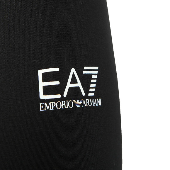 EA7 Emporio Armani Womens Black Side Logo Legging main image