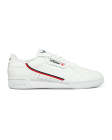 Adidas Originals Mens White Continental 80 Trainer