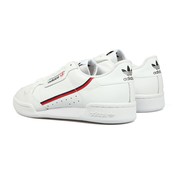 adidas Originals Mens White Continental 80 Trainer main image