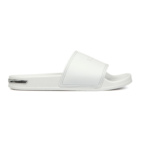 Mallet Mens White Slides main image