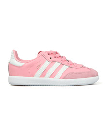 Adidas Originals Girls Pink Samba OG Trainer