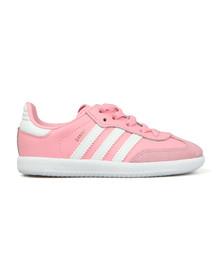 Adidas Originals Girls Pink Samba OG Trainer