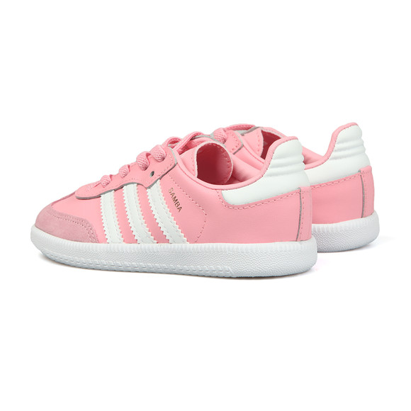Adidas Originals Girls Pink Samba OG Trainer main image