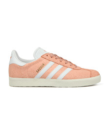 adidas Originals Womens Red Gazelle Cracked W Trainer