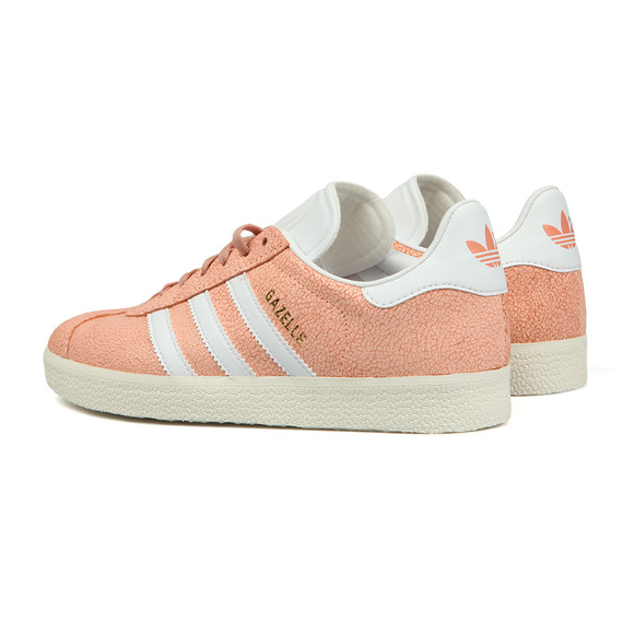 Womens Pink Gazelle Cracked W Trainer main image