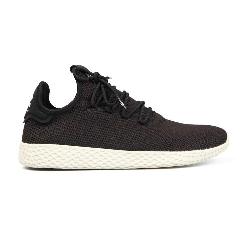 c9da467e9 adidas Originals Mens Black Pharrell Williams Tennis HU Trainer