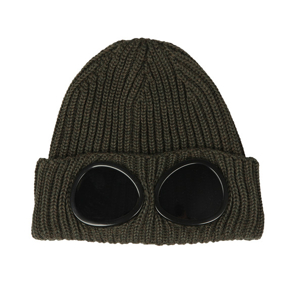 C.P. Company Mens Green Goggle Hat