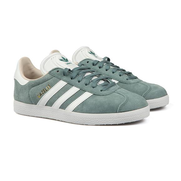 Adidas Originals Womens Green Gazelle OG W Trainer main image