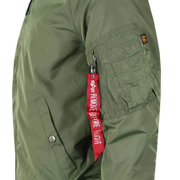 Alpha Industries Mens Green MA1  Bomber Jacket main image