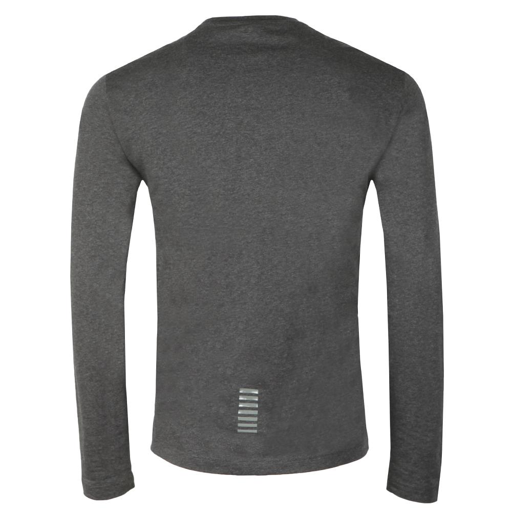 65add9f1aa20 EA7 Emporio Armani Small Logo Long Sleeve T Shirt | Oxygen Clothing