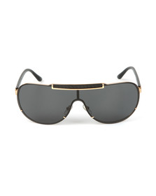 Versace Mens Black VE2140 Sunglasses
