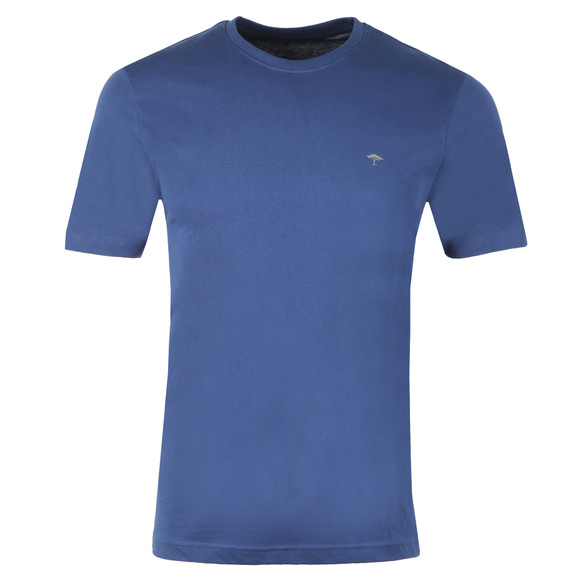 Fynch Hatton Mens Blue Crew Neck T-Shirt main image