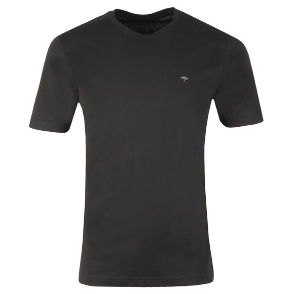 Fynch Hatton Mens Black Crew Neck T-Shirt main image