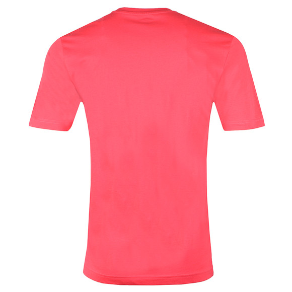 Fynch Hatton Mens Pink Crew Neck T-Shirt main image