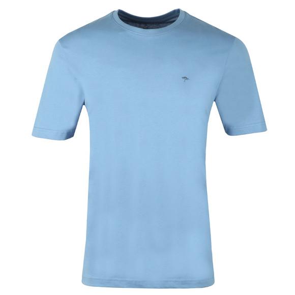 Fynch Hatton Mens Blue Crew Neck T-Shirt main image
